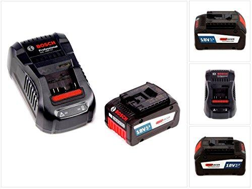Bosch Starter Set GBA 18 V mit 1x 63 Ah  6300 mAh EneRacer Professional Akku  GAL 1880 Ladegerät