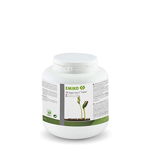 EM Super Cera C Pulver 1kg mit Effektiven Mikroorganismen zur Bodenverbesserung oder zum Renovieren