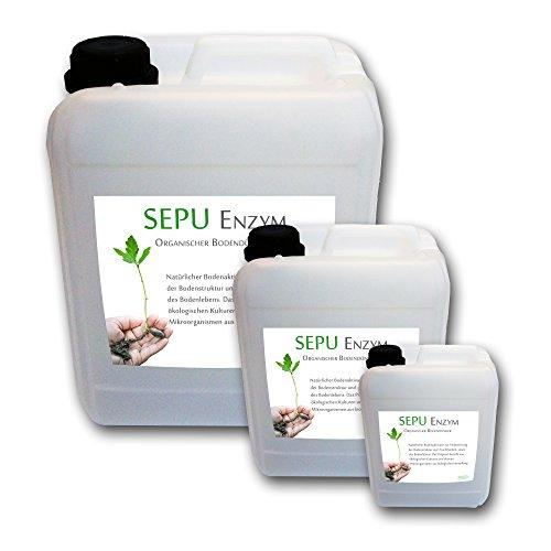 baumgrün 5L Sepu Enzym Effektive Mikroorganismen EM Bodenaktivator Organischer pflanzlicher Dünger Bodendünger Lebende Enzyme 5 Liter