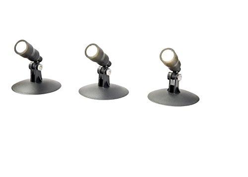 RITOS LED Unterwasserleuchten Set IP68 3x1 W
