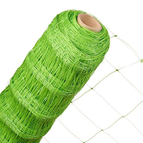 HaGa Ranknetz 17m x 20m Masche 140mm Rankhilfe Kletterpflanzen Gartennetz Netz