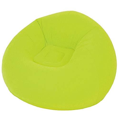 JIE KE Sofa aufblasbare Outdoor Freizeit Luft Sitz tragbare bequem Bequemes Sofa Farbe  Green größe  Electric Pump