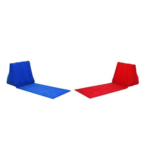 Sharplace 2pcs Aufblasbares SofaStuhl  LiegestuhlBett Portable Liegestuhl für Camping Party Angeln Picknick Grill