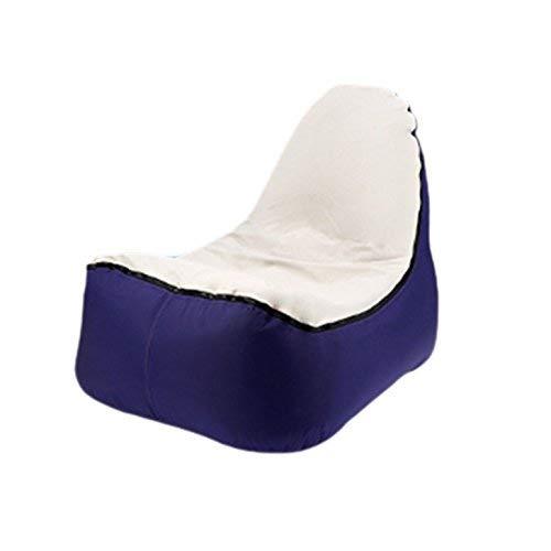 Wohnzimmerdekoration KC-212 Air Bed Aufblasbare Sofa Lounger Im Freien Schnelle Faltung Schlafluft Sofa Aufblasbare Stuhl Hocker - Farbe Lila Farbe  Purple
