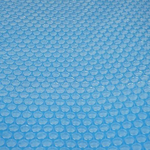 Mendler Pool-Abdeckung Wärmeplane Solarplane Solarabdeckung blau Stärke 400 µm rund 548 m