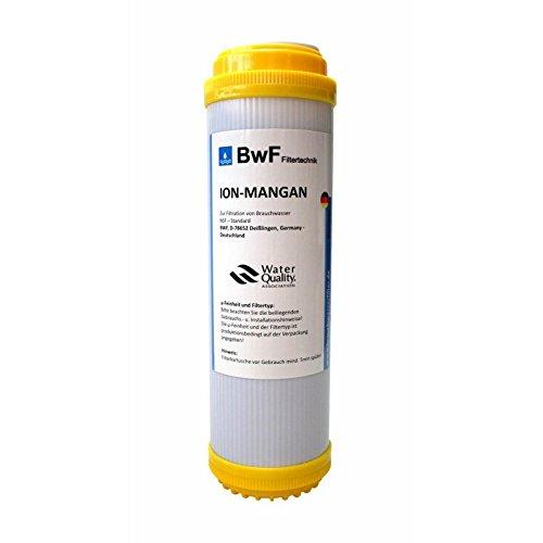 BWF Original ION-Mangan Anti Mangan Braunfärbung Patrone Filterkartusche Wasserfilter Filter Wasser Fische NEU