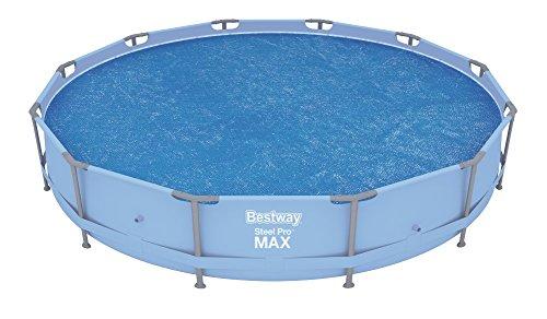 Bestway Flowclear Solarabdeckplane 366 cm-Pools für 366 cm Fast Set Pool Steel Pro Pool und Steel Pro MAX Pool