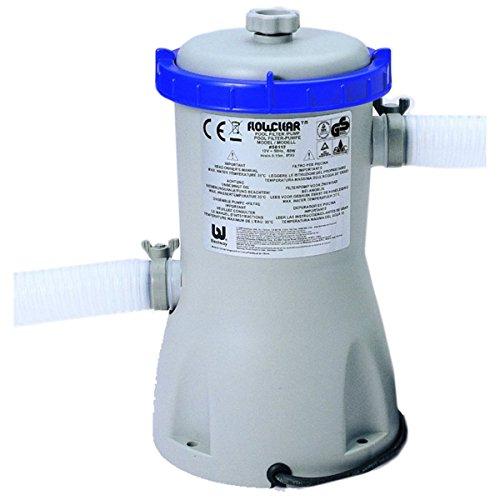 VARILANDO Filter-Pumpe mit 1249 LStunde für Fast-Set-Pools mit Ø 244 305 oder 366 cm