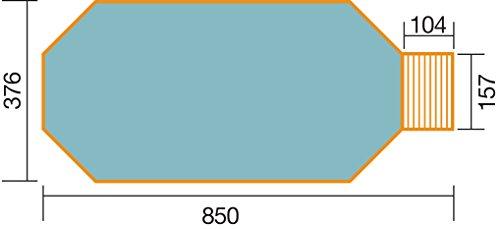 weka Massivholzpool 593 B Gr1 Alles dabei inkl Technik Sandfilteranlage Medium und Technikraum