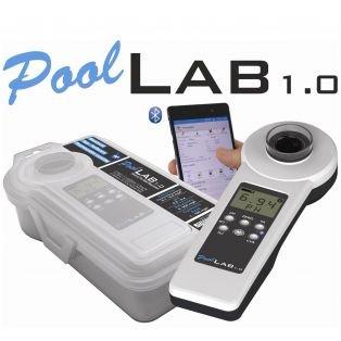 Elektronischer Poolwassertester PoolLab 9 in 1 Messgerät Kontrolle der Wasserqualität