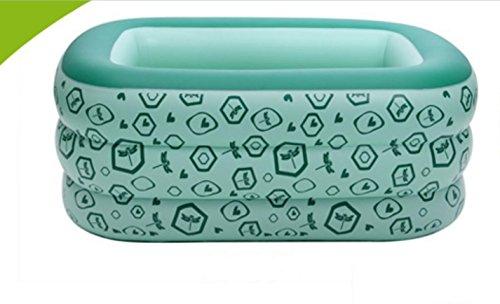 FACAI888 Platz trizyklischen Baby aufblasbares Schwimmbecken  aufblasbaren Pool  aufblasbare Badewanne  grün