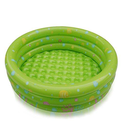 LEDMSLH Kind Aufblasbare Schwimmbecken Kinder Ozean Ball Pool 315  95 Zoll  Farbe  Grün