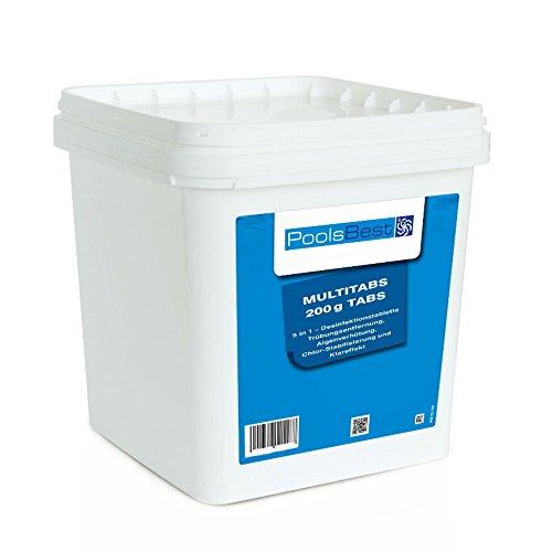 5 Kg - PoolsBest Chlor Multitabs 5in1 200g Tabs