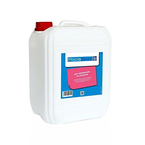 12 Kg - PoolsBest pH-Senker flüssig 45ig