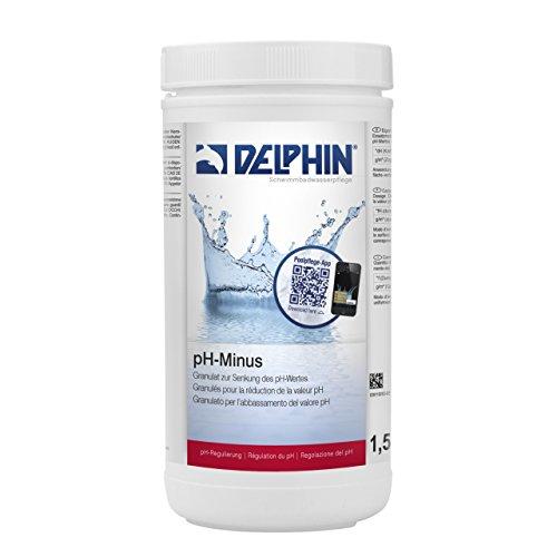 Chemoform Delphin pH Minus Granulat 15 kg pH Senker Schwimmbadpflege Poolpflege 0811001D