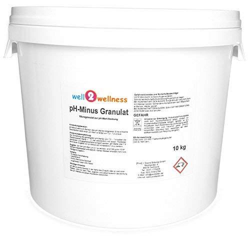 well2wellness pH Minus GranulatpH Senker Granulat 10 kg