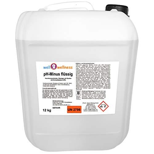 well2wellness pH Minus flüssigpH Senker flüssig 12 kg
