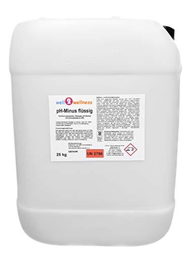 well2wellness pH Minus flüssigpH Senker flüssig 25 kg