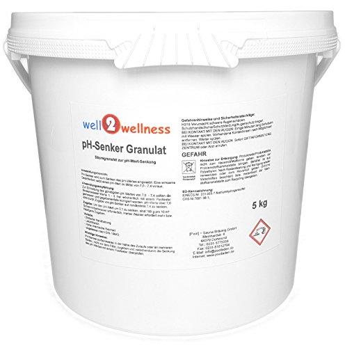 well2wellness pH-Senker Granulat 50 kg