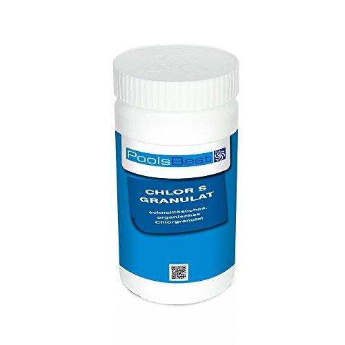 1 Kg - PoolsBest Chlorgranulat S schnelllöslich 56 Aktivchlor organisch