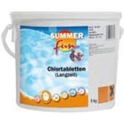 Summer Fun 502010736 Chlor - Langzeit Tabletten 5 kg Eimer
