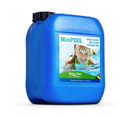 Huwa-San MiniPOOL chlorfreie All-in-One Wasser- Poolpflege Wasserstoffperoxid-Basis 79 5L bis 10m³
