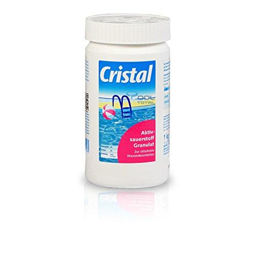Cristal Aktivsauerstoff Granulat 10 kg - Sauerstoff Granulat zur chlorfreien Wasserdesinfektion