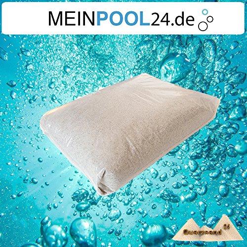 25 kg Filtersand für Sandfilteranlagen Quarzsand 10-20 mm H1 Marke Meinpool24de versandkostenfrei D mit DHL
