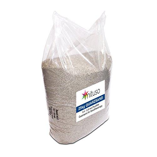25Kg Filtersand 04-08 mm Poolfilter Quarzsand für Sandfilteranlage