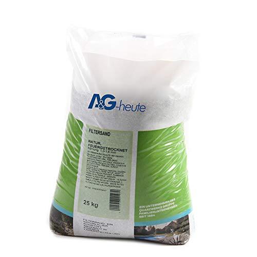 A&G-heute 25kg Filtersand 10-16 mm Poolfilter Quarzsand für Sandfilteranlage