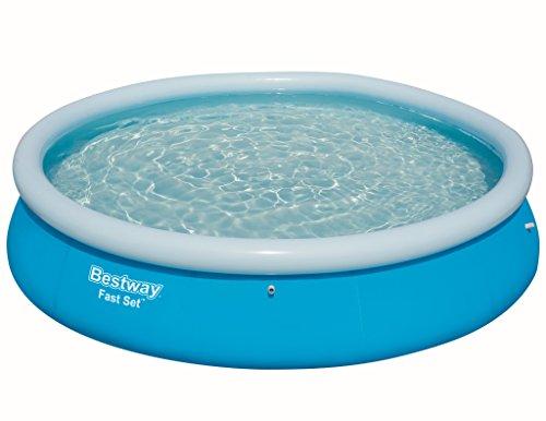 Bestway Fast Set Pool Ersatzteil rund blau 366 x 76 cm