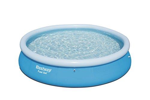 Bestway Fast Set Pool rund ohne Pumpe blau 366 x 76 cm