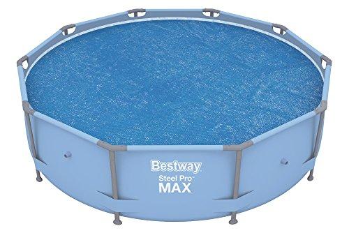 Bestway Flowclear Solarabdeckplane für 305 cm Fast Set Pool Steel Pro Pool und Steel Pro MAX Pool