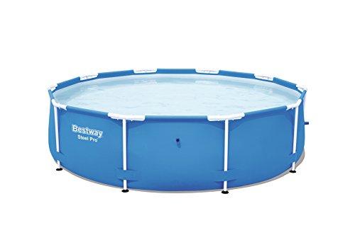 Bestway Steel Pro Frame Pool ohne Pumpe rund 305x76cm Stahlrahmenpool blau