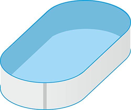 Pool Schwimmbecken Oval Ovalpool 530 x 320 x 120m IH 08mm