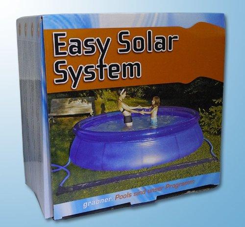 Easy Solar System 346 x 035 m 4°C Wassertemperatur im Pool Solarheizung Solarabsorber 346 x 036m
