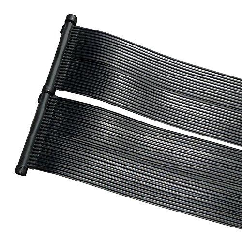 ZELSIUS Solarheizung Poolheizung Sonnenkollektor Solarabsorber Solarmatte für Swimming Pool ca 600 x 80 cm Schwimmbadheizung