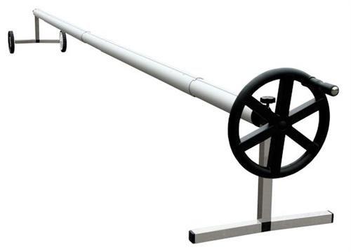 Zelsius - Fahrbares Edelstahl Aufrollsystem für Solar und Pool Planen und Abdeckungen von 300 bis 570 cm