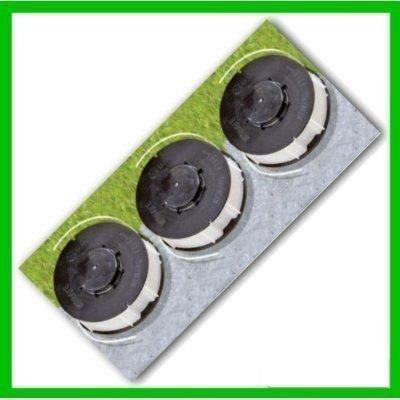 3 x Ersatzfadenspule für Rasentrimmer Fadenspule Gardenline - Einhell - King Craft - Top Craft