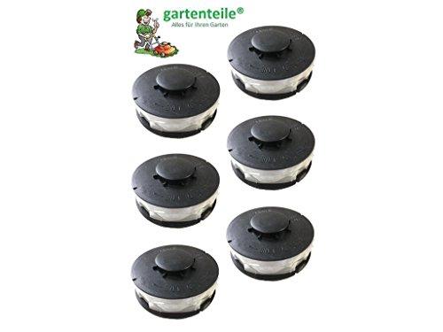 6 Spulen Passt für EINHELL CG-ET4530  ErsatzspuleDoppel - Fadenspule Passend für Elektro RasentrimmerFreischneider  Kantentrimmer Spule Einhell CG-ET4530