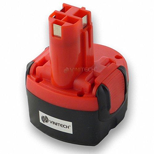 Vinitech Akku für Bosch 96V 2000mAh 20Ah 23609 32609 32609-RT GDR96V GSR96V GSR96-1 GSR96-2 96VE-2 PSR 96VE-2 PSR96 PSR960 NiMh