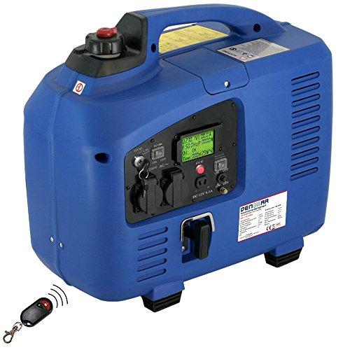 DENQBAR 22 kW Inverter Stromerzeuger Notstromaggregat Stromaggregat Digitaler Generator benzinbetrieben DQ2200ER mit E-Start und Funk