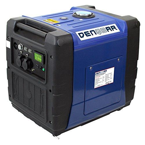 DENQBAR 56 kW Inverter Stromerzeuger Notstromaggregat Stromaggregat Digitaler Generator benzinbetrieben DQ5600ER mit E-Start und Funk