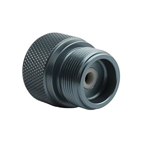 Starall Camping Gasherd Adapter Ventil Kanister zu 1L Green Propan TankSchweißbrenner MAPP Gas Dosen