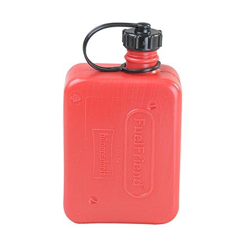 BULTO FuelFriend Kleinkanister Benzinkanister Reservekanister 05 l - rotschwarz