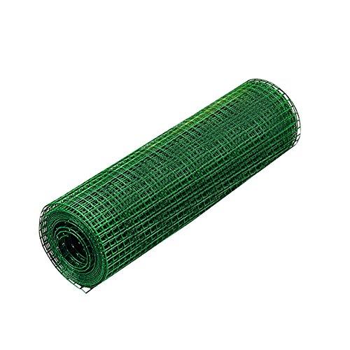 Schweißgitter Gartenzaun Maschendraht Gitterzaun PVC Stahl versch Größen AusführungPVC 5m 127x1270751000