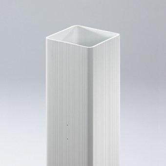 Videx-Coventry-Pfosten Kunststoff H 195 cm weiß