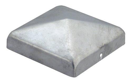 GAH-Alberts 205805 Pfostenkappe für Holzpfosten flache Form feuerverzinkt 70 x 70 mm  10 Stück