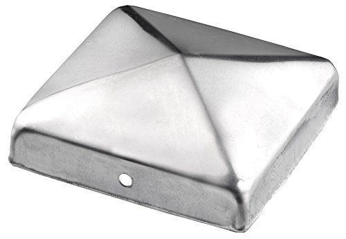 Connex Pfostenkappen 70 x 70 mm ohne Kugel Material Edelstahl rostfrei A2 1 Stück HV4320