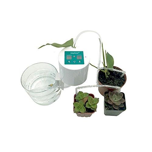 Acutty DIY Bewässerungssystem Automatische Urlaubs Bewässerungsanlage Kit mit Schlauch für Blumenbeet Terrasse Garten oder Topfpflanzen